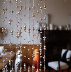 Crystal and Pearl beaded curtains