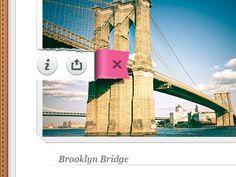 Inside (first draft) - iPad - UI/UX/iOS