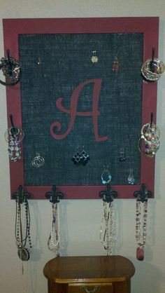 A jewelry holder.