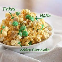 white chocolate frito popcorn