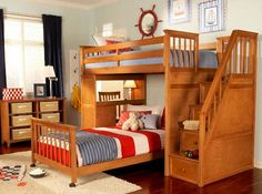 Thomas Stairway Bed