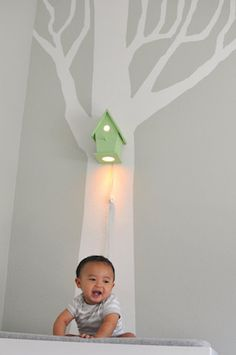#incyinteriors #dreamchildrensroom  Gorgeous lighting idea for baby's nursery