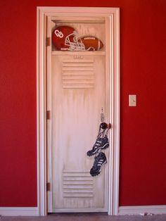 closet door....LOVE THIS