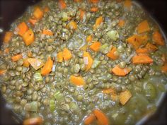 French Fridays: SUMMER'S END, LENTILS and CURRIED CHICKEN