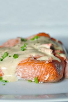 baked salmon with browned butter