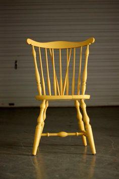 Windsor chair.