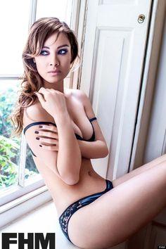#Photo courtesy FHM - #Berenice Marlohe, #Skyfall actress, #James Bond movie