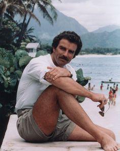 Tom Selleck - face it, many men looked this good in man short shorts?  Still a cutie