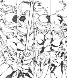 TMNT by *CarlosGomezArtist on deviantART