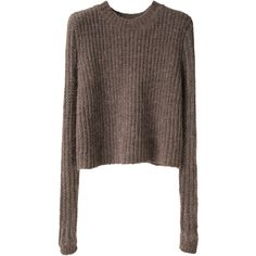 Opening Ceremony Open Rib Pullover ($155) ❤ liked on Polyvore