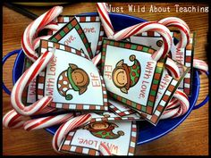 Just Wild About Teaching: You've Been Elf'd! FREEBIE!! Fun ways to encourage, promote and acknowledge great behavior during the holidays.
