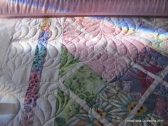 Meander Magic quilting a'la Suzanne Early
