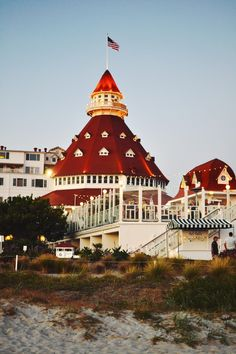 California - San Diego - Hotel Del Coronado. I miss this place. Used to go every year at Christmastime