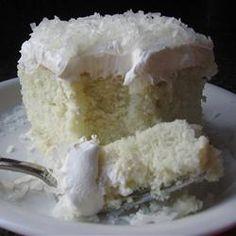 Coconut Poke Cake!