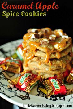 Caramel Apple Spice Cookies