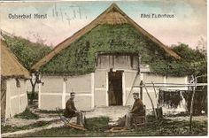 Niechorze Ostseebad Horst Altes Fischerhaus color 16.7.1914   eBay