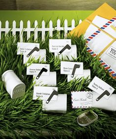 Miniature Vintage Inspired Mail Box Tin - Vintage Wedding Favor Boxes, $12.16   EXTRA 20% OFF TODAY  #gardenwedding