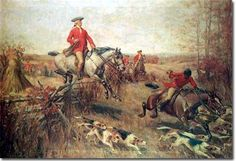 Fox Hunting in Regency England.  http://www.lahilden.com/index.php?categoryid=6_articleid=92