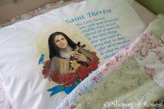 St. Therese Prayer Pillowcase