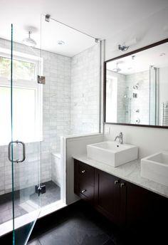 Natural light in bathroom