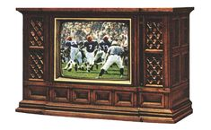 Zenith Console TV w/ *Techni Color -  with UHf and VHf, we were happy with 12 channels.
