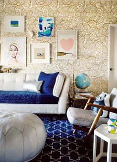 eclectic interiors in Tvoy Designer Blog #eclectic #interior #design