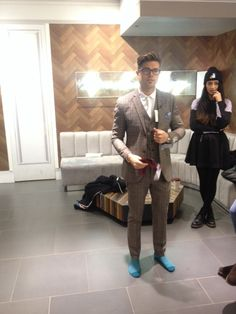 Darren's Diary of London Collections Men (LCM) - TV personality Darren Kennedy shares his LC:M experience through an Autographer camera as it automatically takes pictures highlighting his day.