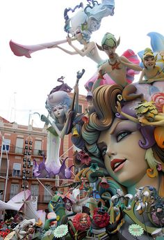 Las Fallas, 15-19 March - Valencia, Spain