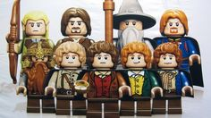 Hobbit and LoTR minifigs