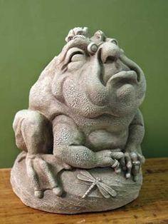 Mr. Grumpy Statuette