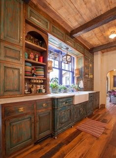 Kitchen Photos Rustic Kitchens Design, Pictures, Remodel, Decor and Ideas - page 3