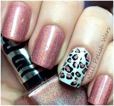 I love the cheetah design!  Enter for the chance to win Sally Hansen Xtreme Wear Nail Polish!  https://www.facebook.com/WomanFreebies/app_660000637350439