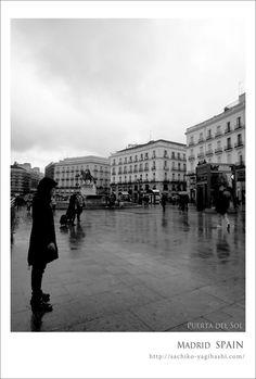 Puerta del Sol. Madrid, SPAIN
