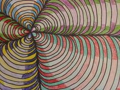 different take on op art