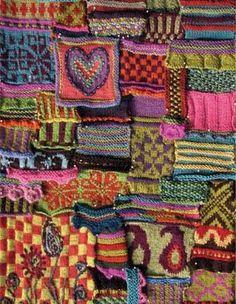color, knit yarn