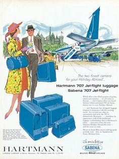 Hartmann 707 Luggage, c. 1958