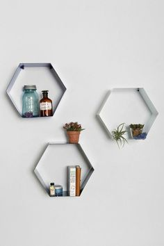 Assembly Home Hexagon Wall Shelf #urbanoutfitters