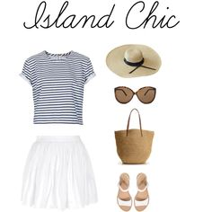 """Island Chic"" by arianatadeo on Polyvore"