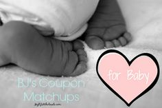 BJ's coupons from the baby book!