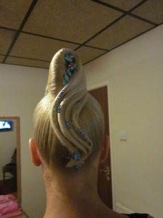 Ballroom Dance Hair