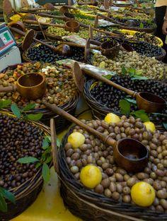 Market in St. Remy de Provence, France.