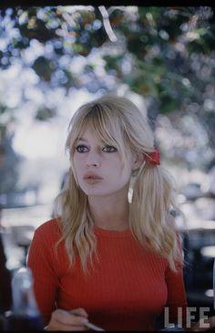 Birgitta Bardot - French sex symbol in the 60s