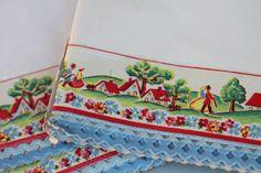 Walrus: Vintage Shelf Paper with Decorative Edge -- Set of 3