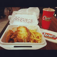 Raising Canes Chicken Fingers! The Best!