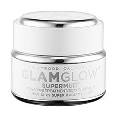 SUPERMUD™ CLEARING TREATMENT - GLAMGLOW | Sephora. Said to extract the pimples and blackheads right from your skin.
