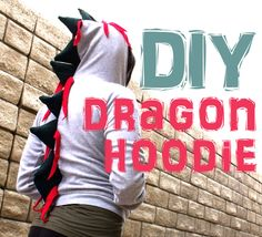 DIY Dragon Hoodie