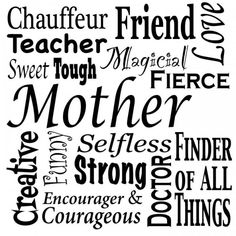 Free Printable Subway Art for Mother's Day | Storypiece.net #mothersday