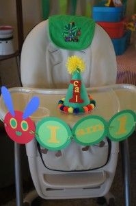 A Very Hungry Caterpillar Birthday Party Decorations, Games, and Activities