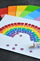 Activities: Rainbow Mosaic