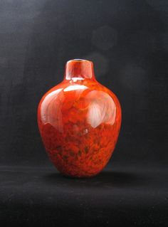 Handblown Glass Vase from Avolie Glass